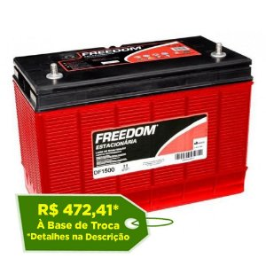 Bateria Estacionária Freedom DF1500 - 80Ah / 93Ah