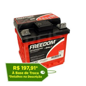 Bateria Estacionária Freedom DF300 - 26Ah / 30Ah