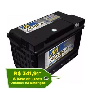 Bateria Estacionária Moura NoBreak 12MN55 - 55Ah