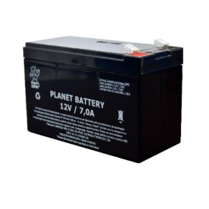 Bateria Estacionária VRLA ( AGM ) Planet Battery 12V – 7Ah