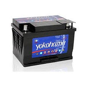 Bateria Yokohama Prata 50Ah – Y50OPLD – Baixa Manutenção
