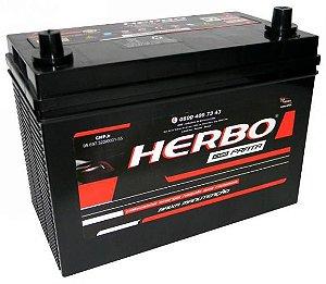 Bateria Herbo Prata 90Ah – HP90FCD / HP90FCE – Baixa Manutenção ( Requer Água )