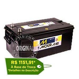 Bateria Moura 220Ah LOG Diesel – M220PD – Original de Montadora