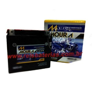 Bateria Moura Moto 4Ah - MA4-D - Selada AGM ( Ref. Yuasa: YTX5L-BS )