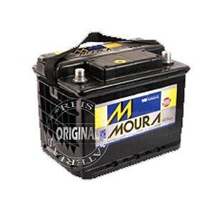 Bateria Moura 60Ah – M60AD ( Cx. Alta ) – Original de Montadora