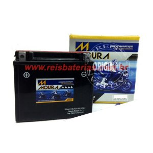 Bateria Moura Moto 10Ah - MA10-E - Selada ( Ref. Yuasa: YTX12-BS )