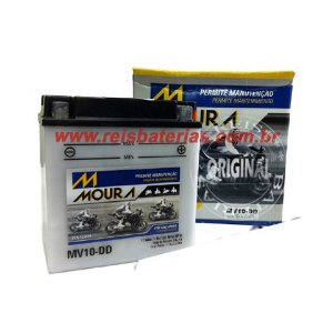 Bateria Moura Moto 11Ah - MV11-D ( Ref. Yuasa: YB10L-B2 )