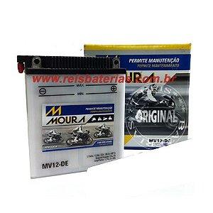 Bateria Moura Moto 12Ah - MV12-D ( Ref. Yuasa: YB12AL-A )