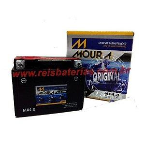 Bateria Moura Moto 3Ah - MA3-D - Selada AGM ( Ref. Yuasa: YTX4L-BS )