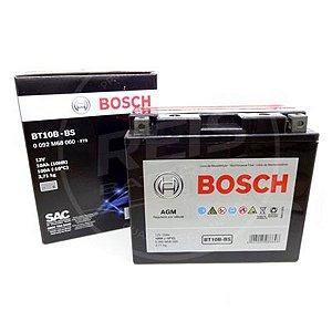 Bateria Bosch Moto 10Ah - BT10B-BS - Selada AGM ( Ref. Yuasa: YT12B-BS )