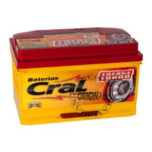 Bateria Cral Energy Sound 80Ah – SCE80VD – Alta Performance