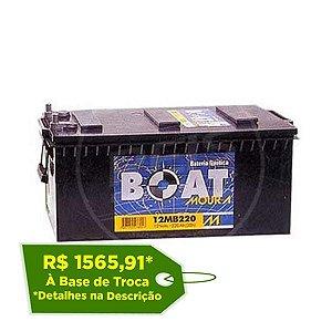 Bateria Moura Boat 220Ah – 12MB220 – Para Barcos ( Náutica )