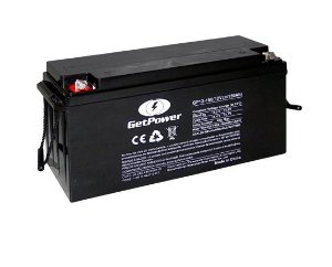 Bateria Estacionária VRLA ( AGM ) GetPower 12V – 150Ah – GP12-150