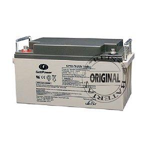 Bateria Estacionária VRLA ( AGM ) GetPower 12V – 70Ah – GP12-70