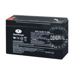 Bateria Estacionária VRLA ( AGM ) GetPower 6V – 10Ah – GP6-10