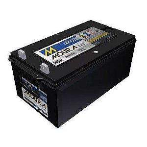 Bateria Estacionária Moura Clean 12MF220 - 220Ah