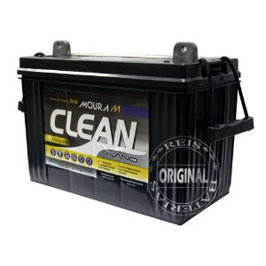 Bateria Estacionária Moura Clean 12MF80 - 80Ah