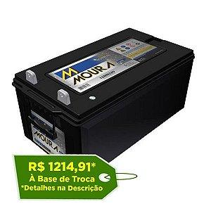 Bateria Estacionária Moura NoBreak 12MN220 - 220Ah