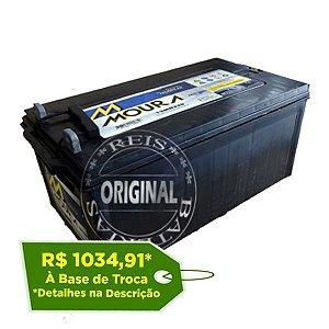 Bateria Estacionária Moura NoBreak 12MN175 - 175Ah