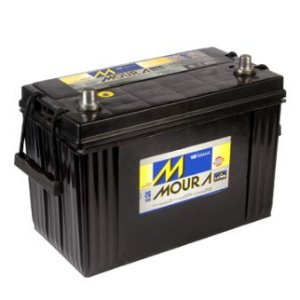 Bateria Moura 100Ah LOG Diesel – M100HE – Original de Montadora
