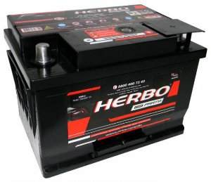 Bateria Herbo Prata 50Ah – HP50OPLD / HP50OPLE – Baixa Manutenção ( Requer Água )