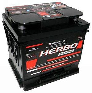 Bateria Herbo Prata 45Ah – HP45PALD ( Cx. Alta ) – Baixa Manutenção ( Requer Água )