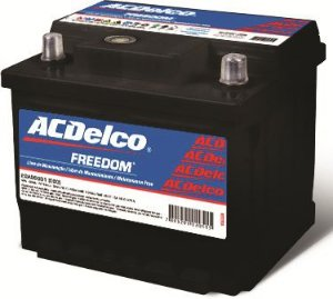 Bateria ACDelco 40Ah – 22AO40D1 – Original de Montadora