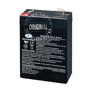 Bateria Estacionária VRLA ( AGM ) GetPower 6V – 2,8Ah – GP6-2.8