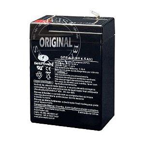 Bateria Estacionária VRLA ( AGM ) GetPower 6V – 4,5Ah – GP6-4.5