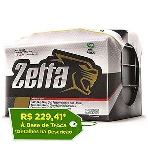 Bateria de Carro Zetta 60Ah – Z60D – Fabricação Moura - Selada