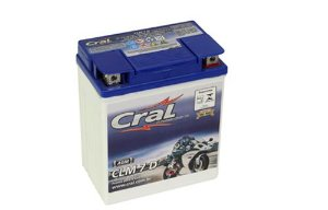 Bateria Cral Moto 7Ah – CLM7D ( Ref. Yuasa: YTX7L-BS )