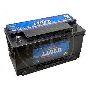 Bateria Lider 95Ah - JJ95SD – Baixa Manutenção ( Requer Água )