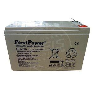 Bateria Estacionária VRLA ( AGM ) First Power 12V - 7Ah - FP1270S