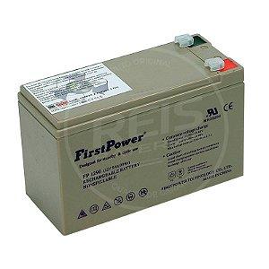 Bateria Estacionária VRLA ( AGM ) First Power 12V - 9Ah - FP1290
