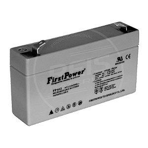 Bateria Estacionária VRLA ( AGM ) First Power 6V - 12Ah - FP6120