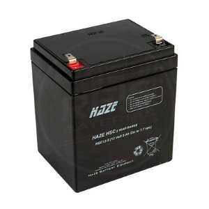 Bateria Estacionária VRLA ( AGM ) Haze Power 12V - 5Ah - HSC12-5
