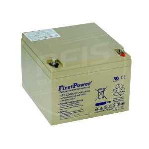 Bateria Estacionária VRLA ( AGM ) First Power 12V - 24Ah - FP12240