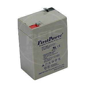 Bateria Estacionária VRLA ( AGM ) First Power 6V - 4Ah - FP640