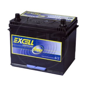 Bateria Excell Free 80Ah - EXF80TCD - Selada