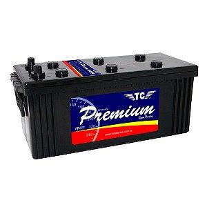 Bateria TC Premium 150Ah - TC150D - Baixa Manutenção ( Requer Água )