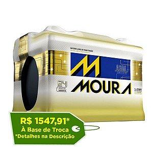 Bateria Moura AGM 80Ah – MA80CD – Para Carro c/ Start-Stop