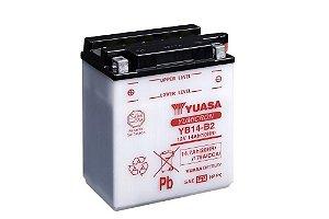 Bateria de Moto Yuasa 14Ah - Yb14-B2