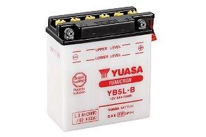 Bateria de Moto Yuasa 5Ah - Yb5L-B