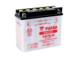Bateria de Moto Yuasa 7Ah - Yb7b-b