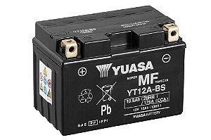 Bateria de Moto Yuasa 10Ah - Yt12A-Bs
