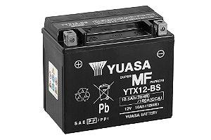 Bateria de Moto Yuasa 10Ah - Ytx12-Bs