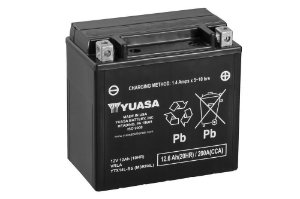 Bateria de Moto Yuasa 12Ah - Ytx14L-Bs