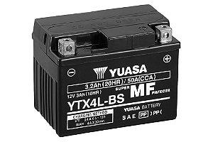 Bateria de Moto Yuasa 3,2Ah - Ytx4L-Bs