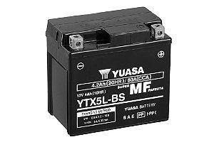 Bateria de Moto Yuasa 4,2Ah - Ytx5L-Bs