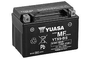 Bateria de Moto Yuasa 8,4Ah - Ytx9-Bs